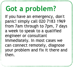 Got a problem?