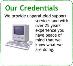 Our Credentials
