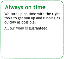 Always on time 